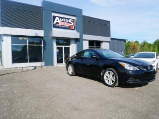 Used 2010 Nissan Altima 2.5 S COUPÉ 2 PORTES + TOIT + INSPECTÉ for sale in Sherbrooke, QC