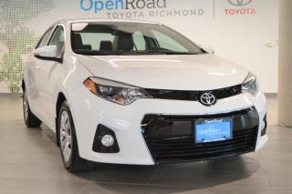 Used 2014 Toyota Corolla 4-door Sedan S CVTi-S for sale in Richmond, BC