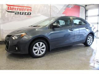 Used 2016 Toyota Corolla S for sale in Lévis, QC