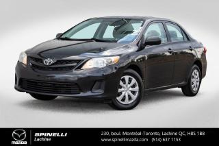 Used 2013 Toyota Corolla AUTOMATIQUE TOIT OUVRANT A/C Toyota Corolla 2013 for sale in Lachine, QC