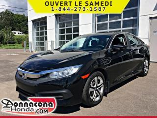 Used 2017 Honda Civic LX *GARANTIE GLOBALE 2022 OU 100 000 KM* for sale in Donnacona, QC