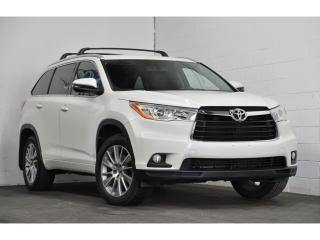 Used 2016 Toyota Highlander 4X4 XLE CUIR TOIT GPS 8 PLACES for sale in Brossard, QC