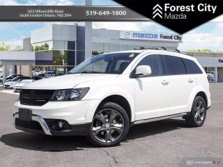 Used 2015 Dodge Journey Crossroad | LEATHER | NAV | DVD for sale in London, ON