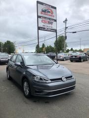 Used 2019 Volkswagen Golf COMFORTLINE $112 BI-WEEKLY! for sale in Truro, NS