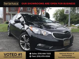 Used 2015 Kia Forte 2.0L EX Bluetooth System. Automatic, Heated Seats, Alloy Wheels. for sale in London, ON