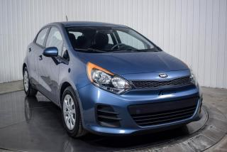 Used 2016 Kia Rio LX HATCH for sale in St-Hubert, QC