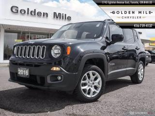 Used 2016 Jeep Renegade North Clean Carfax, Brand New Pads and Rotors, Back-up Camera for sale in North York, ON