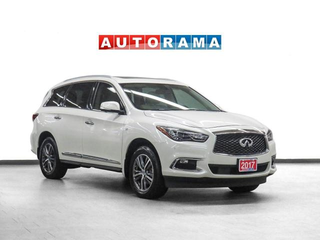 2017 Infiniti QX60 AWD Nav Leather Sunroof 360 Camera