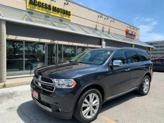 Used 2013 Dodge Durango 4WD 4DR CREW PLUS for sale in North York, ON