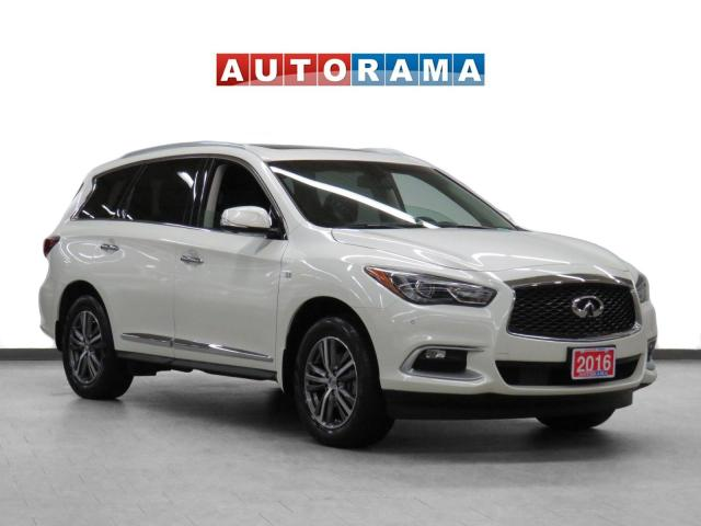2016 Infiniti QX60 AWD Nav Leather Sunroof Backup Cam