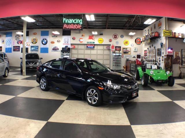 2016 Honda Civic Sedan LX MANUAL A/C H/SEATS REAR CAMERA BLUETOOTH 114K