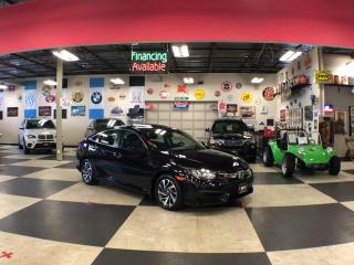 Used 2016 Honda Civic Sedan EX AUT0 A/C SUNROOF BACKUP CAMERA BLUETOOTH 89K for sale in North York, ON