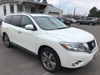 Used 2015 Nissan Pathfinder Platinum ** 4X4, 360 CAM, NAV, HTD/COOLED LEATH ** for sale in St Catharines, ON
