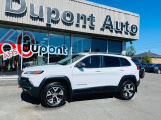 Used 2017 Jeep Cherokee Trailhawk 4 portes 4 roues motrices for sale in Alma, QC
