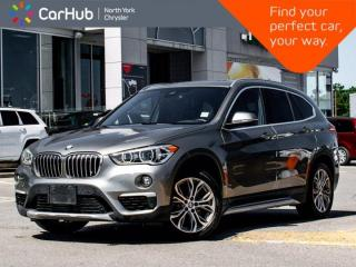 Used 2019 BMW X1 xDrive28i Panoramic Sunroof Navigation Backup Camera Memory and Heated Seats for sale in Thornhill, ON