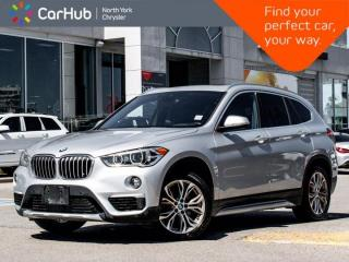 Used 2019 BMW X1 xDrive28i Panoramic Roof Heated Seats Backup Camera Navigation for sale in Thornhill, ON