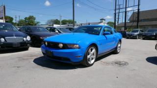 Used 2010 Ford Mustang GT for sale in Winnipeg, MB