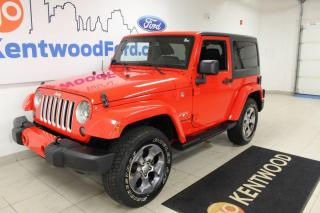Used 2016 Jeep Wrangler 3 MONTH DEFERRAL! *oac   AUTO , LEATHER , NAV.. for sale in Edmonton, AB