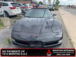 Used 2001 Chevrolet Corvette convertable  - Low Mileage for sale in Hamilton, ON