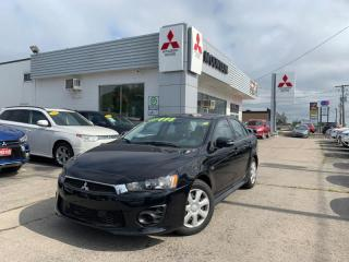 Used 2016 Mitsubishi Lancer ES AWC  - Bluetooth - $41.01 /Wk for sale in Hamilton, ON