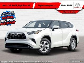 Used 2020 Toyota Highlander LE  AWD for sale in High River, AB