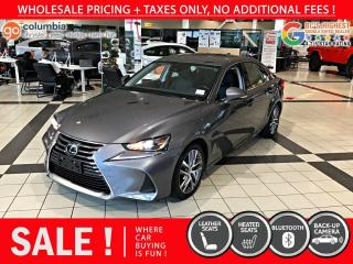 Used 2017 Lexus IS 300 IS 300 AWD for sale in Richmond, BC
