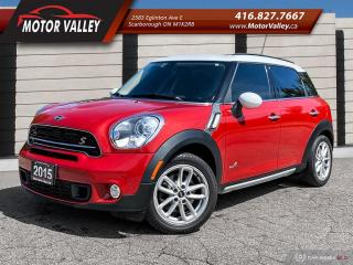 Used 2015 MINI Cooper Countryman S ALL4 NO ACCIDENT CLEAN CAR! for sale in Scarborough, ON