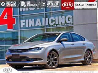 Used 2015 Chrysler 200 S | LEATHER | NAVIGATION | SUNROOF for sale in St Catharines, ON