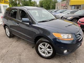 Used 2010 Hyundai Santa Fe LIMITED/ AWD /LEATHER/ SUNROOF/ ALLOYS/ TINTED! for sale in Scarborough, ON