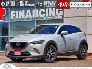 Used 2016 Mazda CX-3 GT AWD | NAVIGATION | LEATHER | CLIMATE CTRL for sale in St Catharines, ON