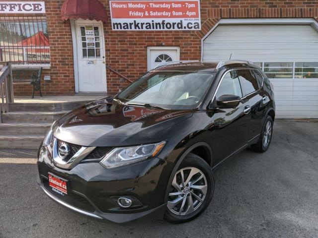 2015 Nissan Rogue SL AWD Pano Roof Htd Lthr Back Up Cam Skyview Cam