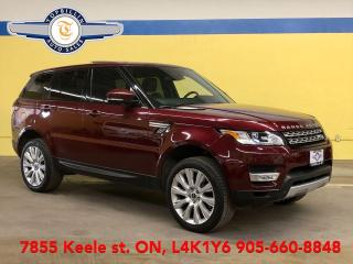 Used 2015 Land Rover Range Rover Sport V6 HSE, Auto Pilot Parking, CPO WARRANTY for sale in Vaughan, ON