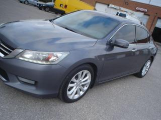 Used 2015 Honda Accord Touring.,navi.,sunroof for sale in Mississauga, ON