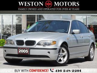 Used 2005 BMW 3 Series 325i*LEATHER*SUNROOF* for sale in Toronto, ON