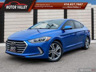 Used 2017 Hyundai Elantra GLS SUNROOF - B.UP CAMERA MINT! for sale in Scarborough, ON