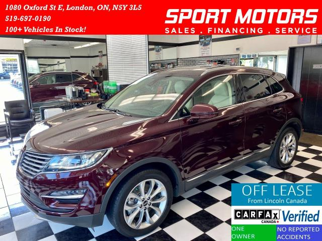 2016 Lincoln MKC Select+GPS+PWR Hatch+PanoRoof+BSM+AccidentFree