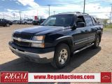 Photo of Blue 2004 Chevrolet Avalanche
