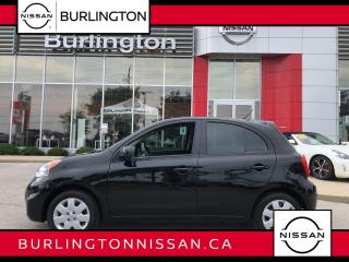 Used 2017 Nissan Micra SV, HUGE Nissan Canada Extended Warranty ! for sale in Burlington, ON