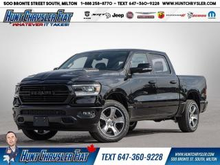 New 2020 RAM 1500 SPORT | LEVEL 2 | HOOD | HITCH | SPRAY!!! for sale in Milton, ON