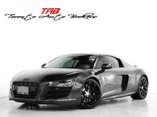 Used 2011 Audi R8 5.2 V10 I BANG OLUFSEN I CARBON FIBRE I NAVI I CAM for sale in Vaughan, ON