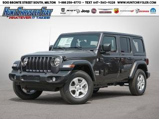 New 2020 Jeep Wrangler UNLIMITED SPORT S | TECH | CONV | TURBO!!! for sale in Milton, ON