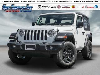 New 2020 Jeep Wrangler SPORT | AUTO | HARDTOP | SIRIUS & MORE!!! for sale in Milton, ON