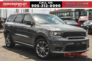Used 2019 Dodge Durango GT | 7 SEATS | NAV | HEATED SEATS | for sale in Hamilton, ON