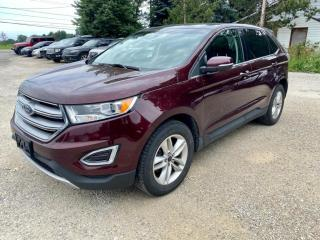 Used 2017 Ford Edge 4dr SEL FWD, leather, pano roofs, heated seats for sale in Halton Hills, ON