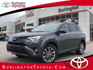 Used 2017 Toyota RAV4 LIMITED  for sale in Burlington, ON