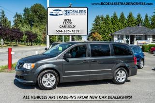 Used 2012 Dodge Grand Caravan CREW, Local, No Declarations, 167k, Bluetooth, Navigation! for sale in Surrey, BC
