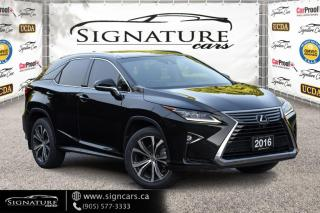 Used 2016 Lexus RX 350 AWD 4dr, 360 CAM, HEADS UP DISPLAY, BLIND SPOT, NAV for sale in Mississauga, ON