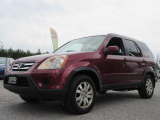 Used 2006 Honda CR-V 4WD EX-L for sale in Newmarket, ON