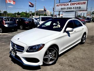Used 2016 Mercedes-Benz C-Class C300 4Matic Prl White Sport AMG/Navigation/Camera for sale in Mississauga, ON