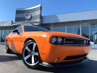 Used 2014 Dodge Challenger SRT 6.4L HEMI 6SPD MANUAL NAVI SUNROOF 44KM for sale in Langley, BC